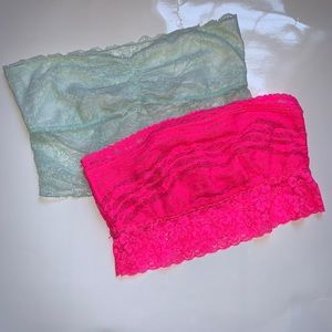 Free People set of 2 bandeaus, size small!